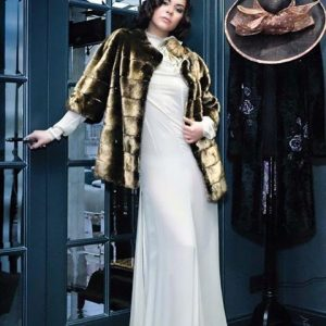 24 carat gold mink fur jacket by Marc Kaufman furs New York City