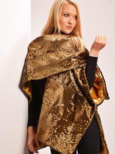 24 kt gold Swakara coat