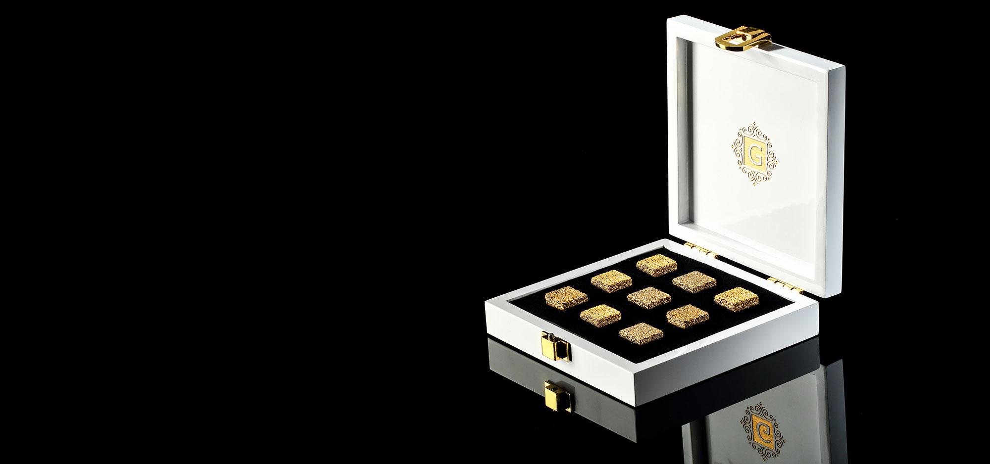 GOLD SUGAR box Set of 9